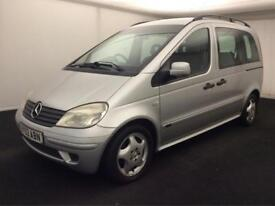 MERCEDES VANEO 1.6 AMBIENTE (2003)> 7 SEATER..FULL MOT..SERVICE HISTORY