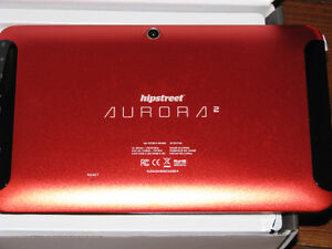 hipstreet aurora 2 dual core capactitive16gb tablet /new /reduce