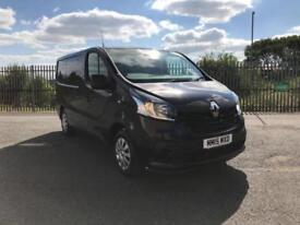 Renault Trafic SWB SL27 ENERGY 1.6DCI 120PS BUSINESS+ DIESEL MANUAL BLACK (2015)