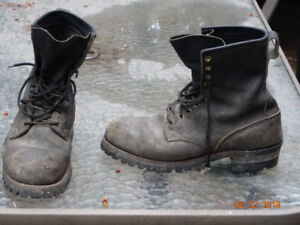 Steel toe work boots for Sale