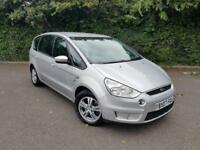 FORD S MAX 1.8 TDCI SILVER 5 DOOR MPV DIESEL MANUAL 7 SEATER 2007