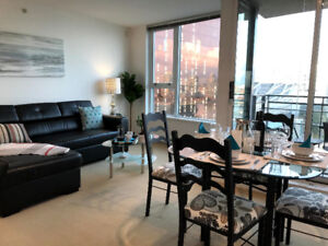 Furnished 2 Bedroom Waterfront Condo W/ Parking