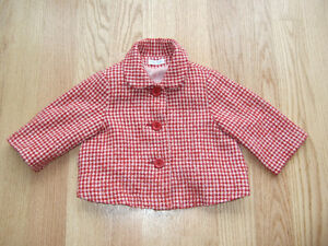 Girls Fall/Spring Wool Jacket - Size 3, Familiar by Les Enfants