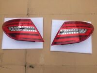 Mercedes c63 204 rear LED lights lamps c200 c220 c250 c350