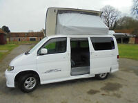 2002 Mazda Bongo Aero 4-berth camper Conversion For Sale with automatic gearbox