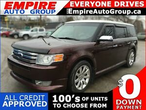 2009 FORD FLEX LIMITED * AWD *  LEATHER * PANO ROOF * HEATED SEA
