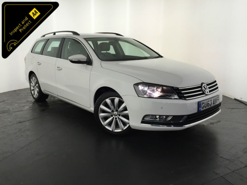 2013 63 VOLKSWAGEN PASSAT HIGHLINE TDI ESTATE 1 OWNER VW SERVICE HISTORY FINANCE