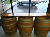 Wine Barrels / card box rental. Up to 17 for rent. $35