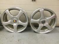4 Mags 17po 5x112 et 5x114,3 pour Audi, VW, Toyota, Nissan Mazda