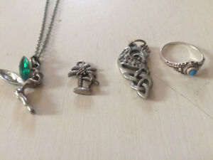 best offer some chain pendants & a ring first  come first serve