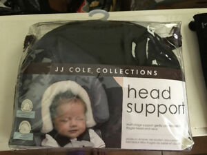 Preemie Baby head support for infant car seat