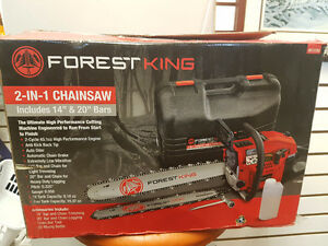 """sold""   Forest King Chainsaw Model: 61000 45cc"