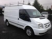 Ford Transit 2.2TDCi mwb limited 155 bhp t350 2013 13 reg