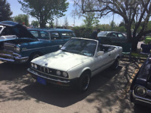 Rare Classic 1986 BMW 325I Convertible! NUMBERS MATCHING!