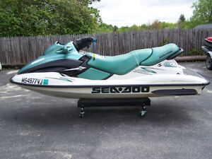 Pair of 2stroke dirtbikes 250 & 125 trade seadoo(s)