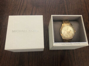 Women's Michael Kors Gold Watch