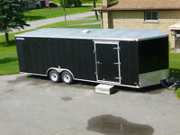 8.5' X 24' Roadmaster Enclosed Utility Trailer