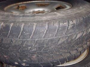 265/70/R17 Tires on Rims