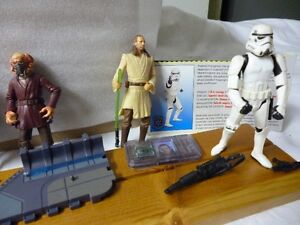 Vintage Star Wars Action Figures 1995 and up London Ontario image 1