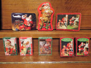 Collectible Tins and 5 sets of playing cards... Coca-Cola Edmonton Edmonton Area image 9