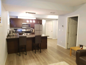1 Bedroom plus Office Basement Suite for rent
