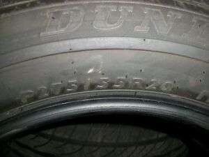 4-Dunlop M&S P275/55R/20 Brand new