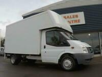 84c3ffc89a6137 2010 Ford TRANSIT 350 LWB DRW 100ps LUTON BOX VAN  F S H