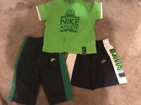 Boys Nike shorts/t-shirt age 3-4 years