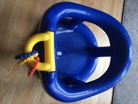 Swivel Bath Seat - Dark Blue