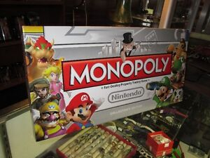MONOPOLY NINTENDO Board Game For Sale