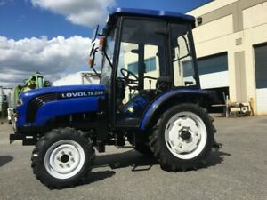 New Lovol TE254 Tractor with Cab+ Front end Loader - $14000