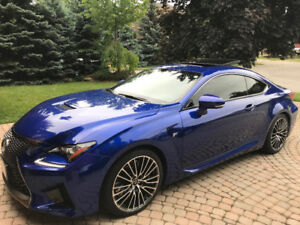 2015 Lexus RC F - Ultra Sonic Blue 2.0