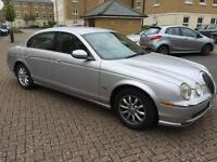 2002 Jaguar S-TYPE 3.0 V6 auto SE nice and fast New mot just done 10/07/2017