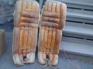 Vintage Goalie Pads