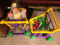 kids toy strollers and baby chair