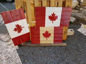 Canada Flags Hand Made