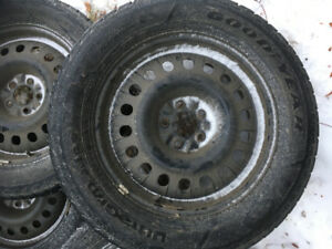 Goodyear Winter Tires 235/60R18