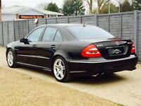2005 55 MERCEDES-BENZ E 55 5.4 E55 AMG 4D AUTO 476 BHP