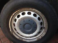 Vw Wheels & tyres (195/65/15)