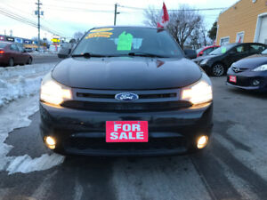 2010Focus SES .**SPECIAL**LEATHER,SUNROOF,97000KM!!!!!