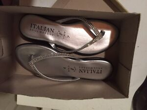 Size 6 two pairs of shoes bought for wedding  London Ontario image 5