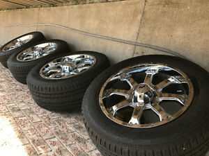 20 rims and tires - ford truck 6 bolt pattern