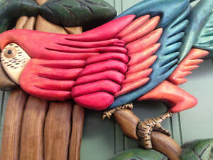 Parrots by Woodworker Willie Kingston Kingston Area image 5