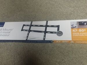 """Wall mount forming screen, brand new in box! """"47-80"""""""