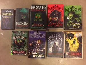 DARREN SHAN books for sale ..starting at 3.00
