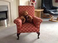 Reproduction miniature armchair