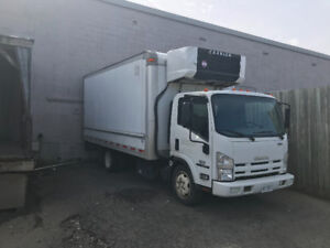 2012 ISUZU COMMERCIAL BOX TRUCK***LOW MILEAGE***