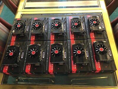 XFX - AMD Radeon RX 560 4GB GDDR5 PCI Express 3.0 Graphics Card - Black
