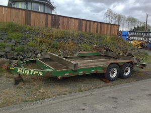 2006 Big Tex Equipment Trailer Campbell River Comox Valley Area image 1