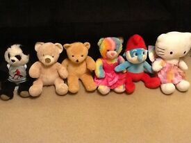 Build a bear Teddies x6